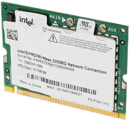 driver intel pro wireless 2200bg para windows 7