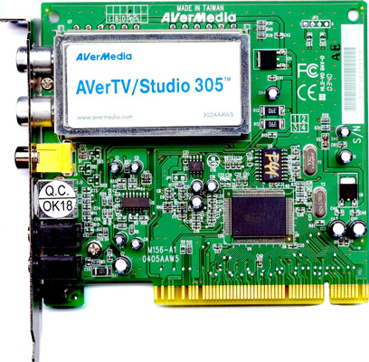 AVERMEDIA AVERTV STUDIO 305 (M151A) WINDOWS 7 64 DRIVER
